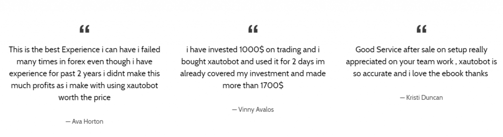 Xautoprofits Robot comments