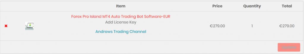 Forex Pro Island Robot offer