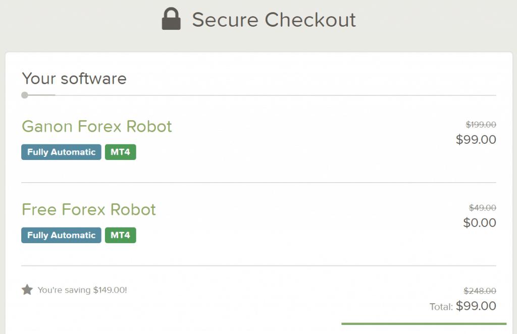 Ganon Robot pricing