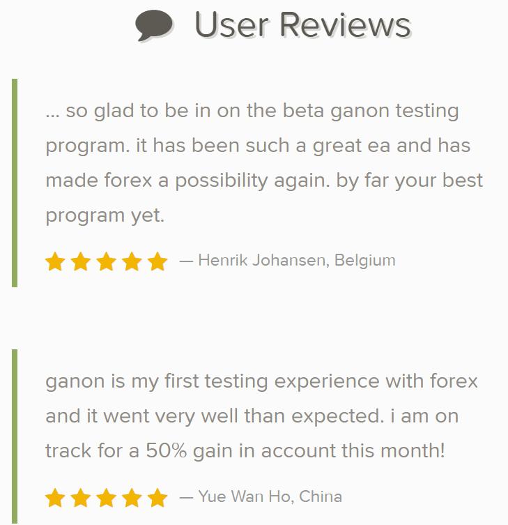 Ganon Robot feedback