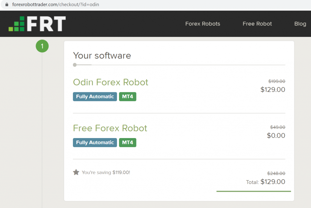 Odin Robot offer