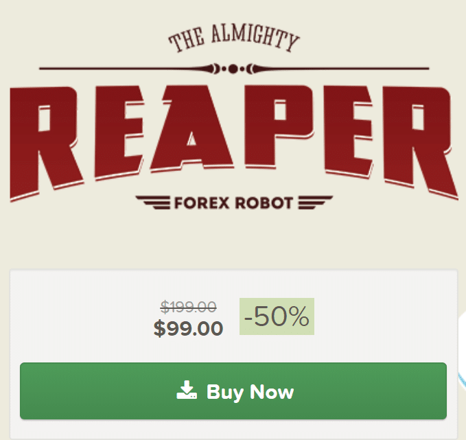 Reaper Robot pricing