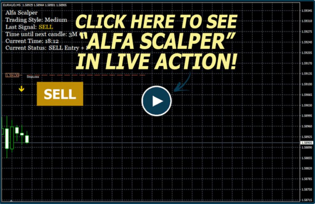 Alfa Scalper Robot Trading results