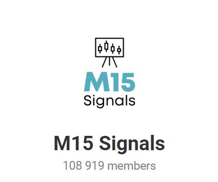 M15 Signals Social Network Profiles