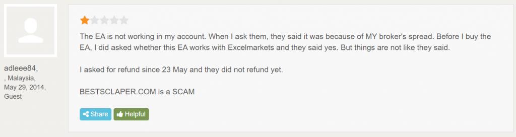 Best Scalper customer reviews