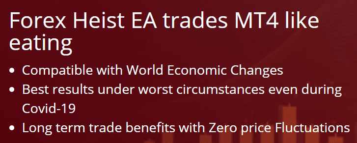 Forex Heist EA about
