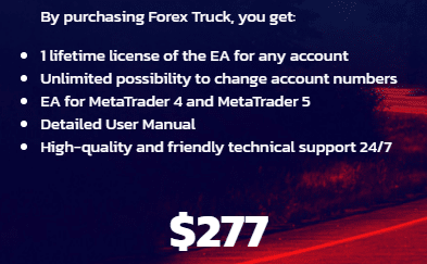 Forex Truck Pricing