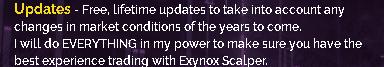 Exynox Scalper updates