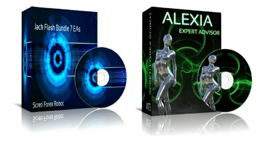 Jack Flash Bundle 7EAs and Alexia robots