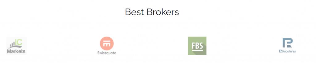 Screti Forex Robot - broker list