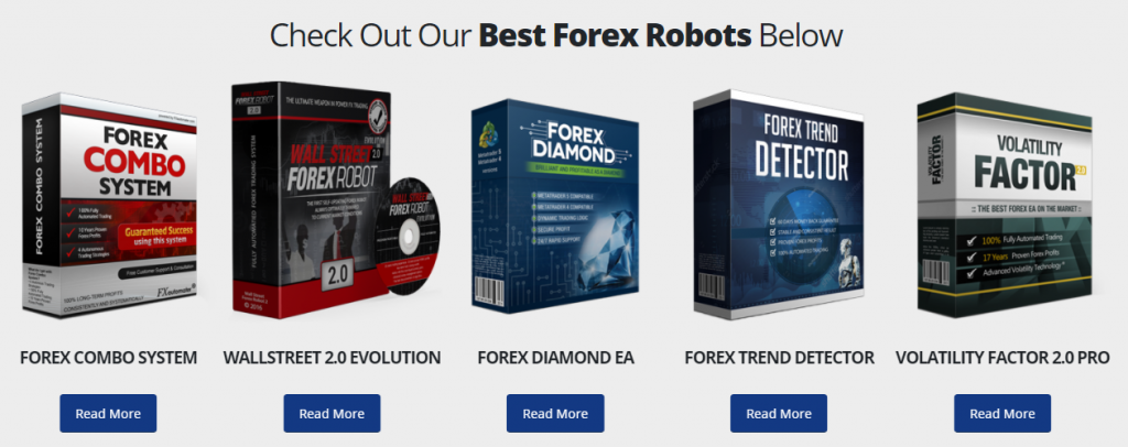 Smart Scalper Pro other products of FX Automater