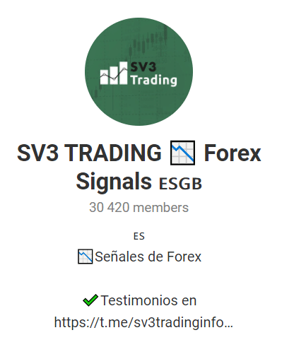 SV3 Trading Telegram channel