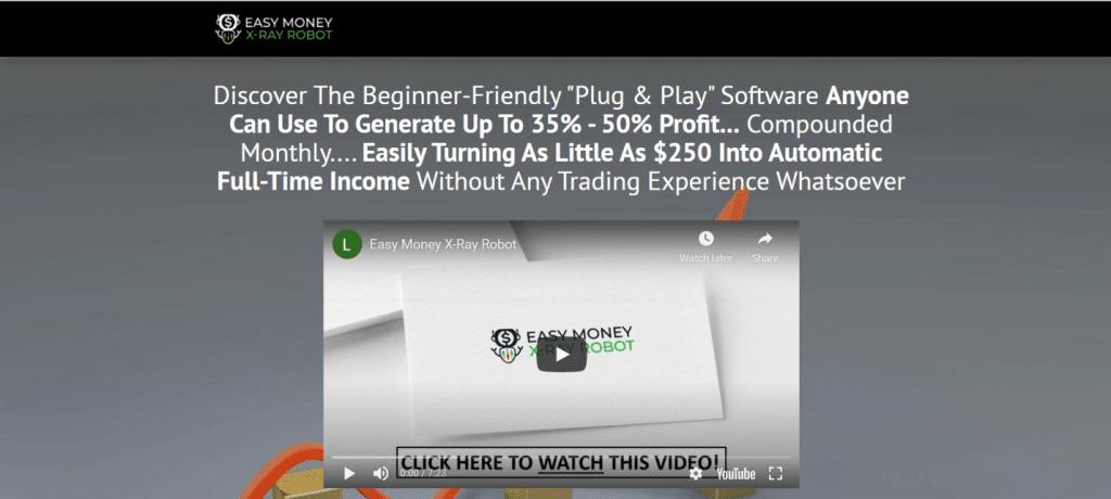 Easy Money X-Ray Robot presentation