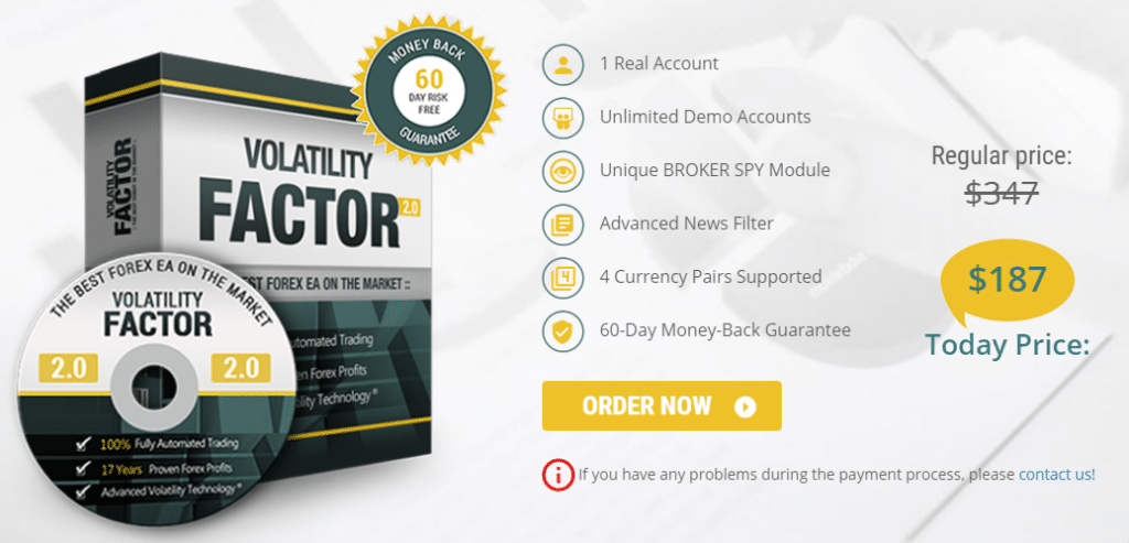 Volatility Factor 2.0 price