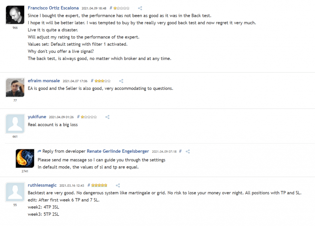 Big Expert People feedback