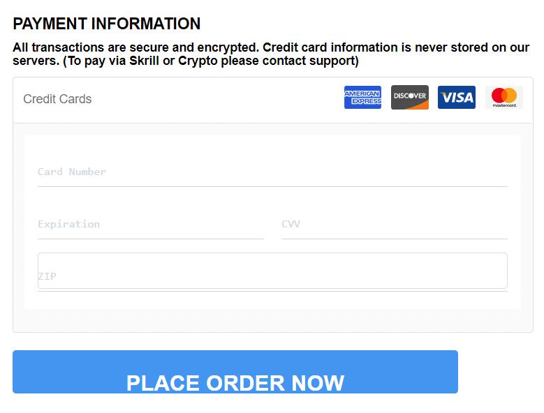 FX Scalper X payment information