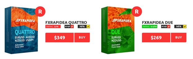 FXRapidEA price
